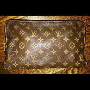 Vintage Louis Vuitton Trousse 28 great makeup bag